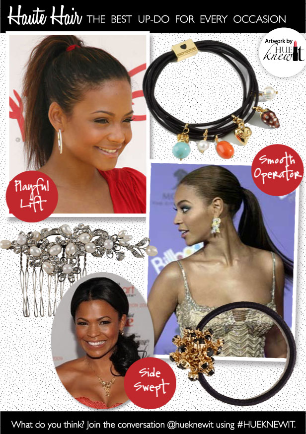 Pony Up: Hair Accessories for Updo Styles