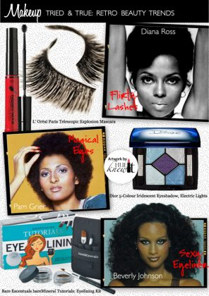3 Retro Eye Makeup Looks