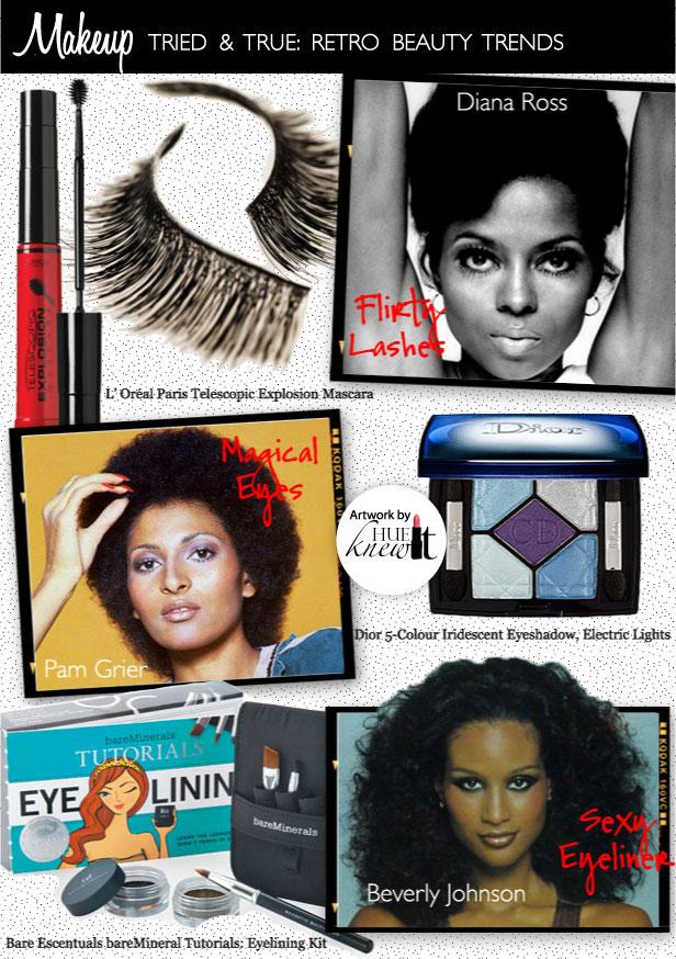 3 Retro Eye Makeup Looks