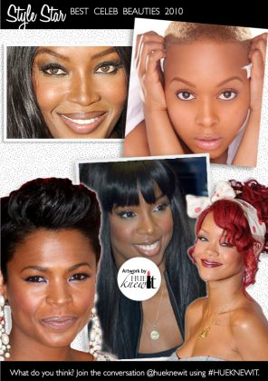 Our 5 Top Beautiful Celebrities of 2010