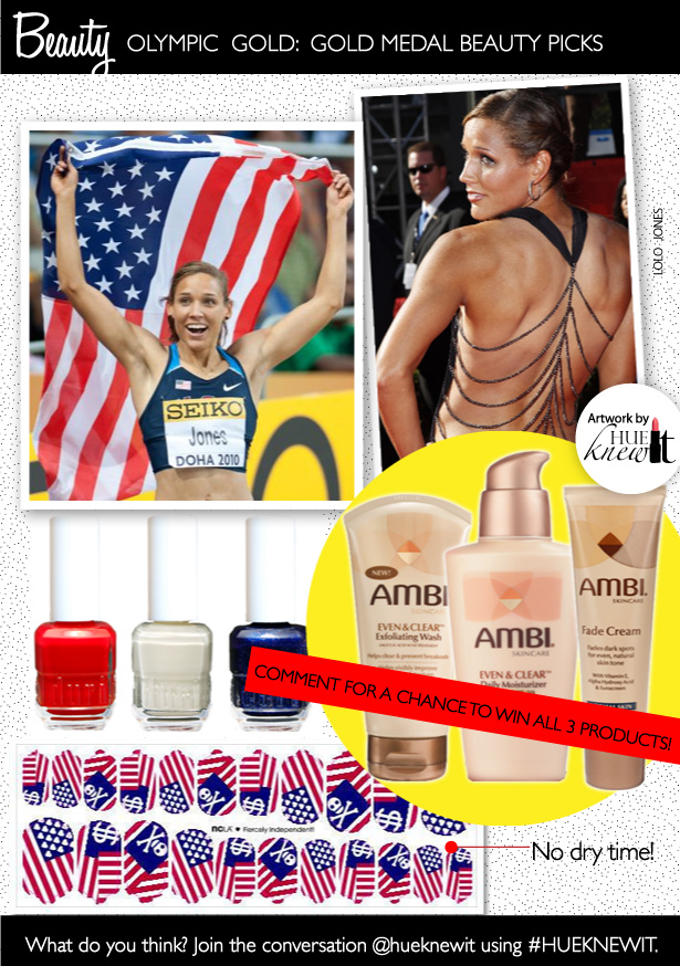 3 Beauty Picks That Will Bring Out Your Olympic Spirit