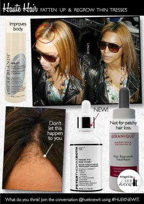 Thicken & Regrow Thinning Hair With 3 OTC Products