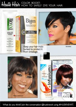 Color Boost: Safely Dying Chemically Relaxed Hair