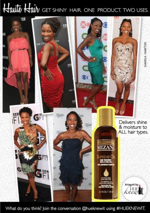 Mizani Supreme Oil: One Product. Two Uses.