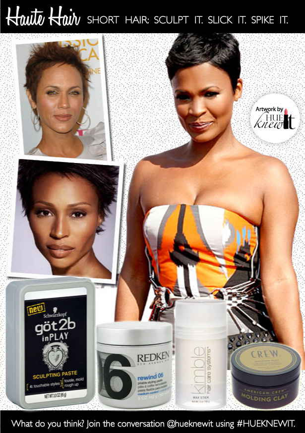 Sculpt it. Slick It. Spike It: How To Maintain Short Hairstyles for Black Women