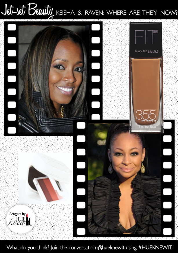 Jet Set Beauty: Actresses Keshia Knight Pulliam & Raven Symone