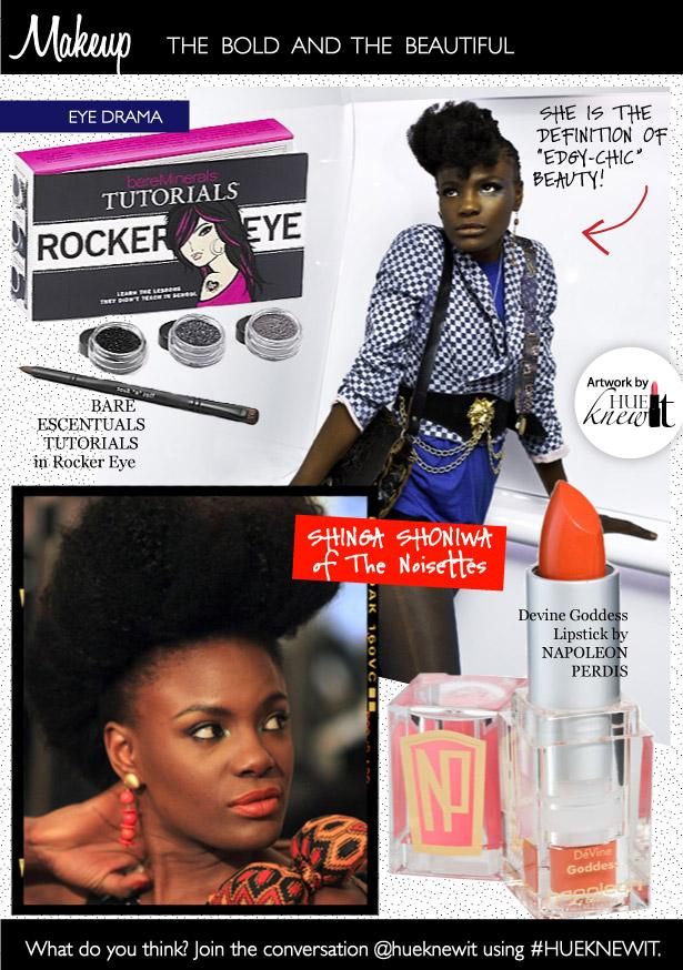 Wear Dramatic Eye Makeup & A Bold Lip Color Like A Rock Star