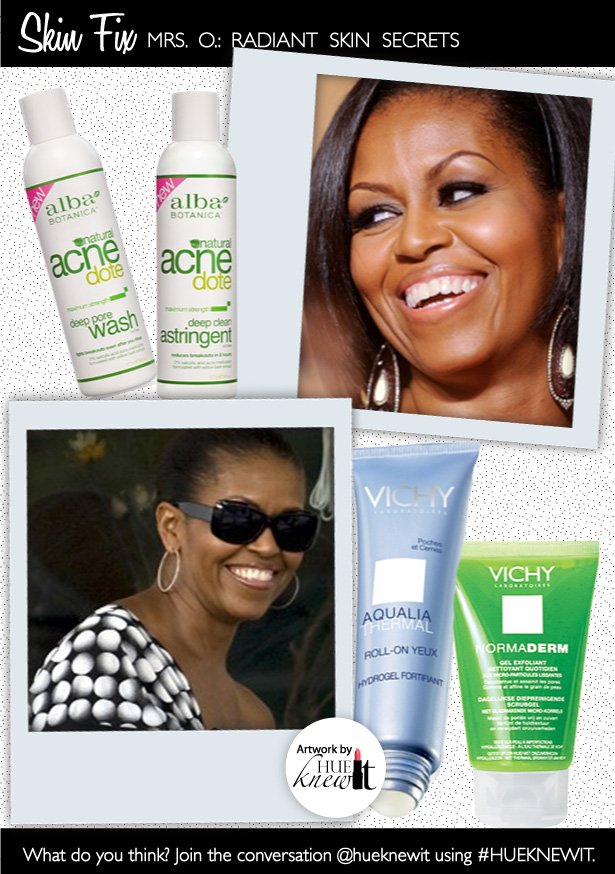Get & Maintain Radiant Skin Like Michelle Obama