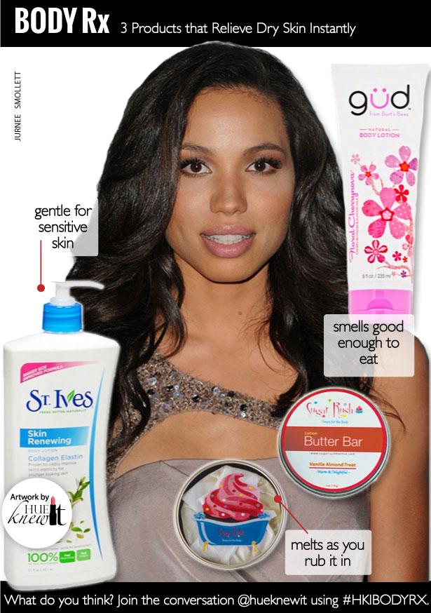 HueKnewIt Body Rx: Get Instant Dry Skin Relief - Jurnee Smollett