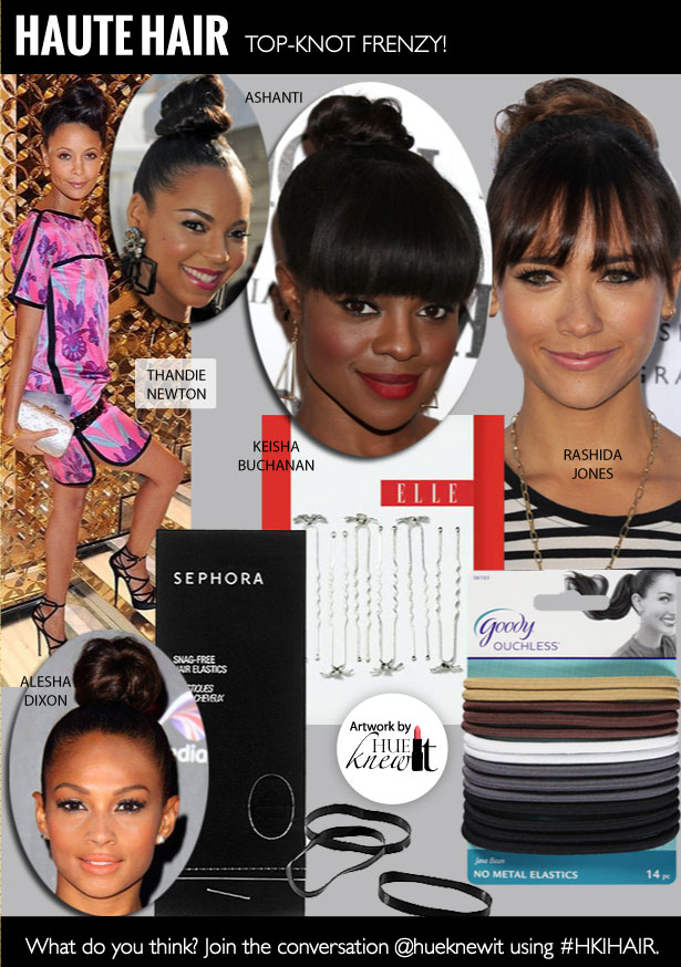 Top Knot Tutorial: Get a Chic Top Knot In 4 Steps
