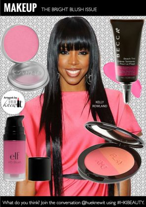 Pink Blush for Black Women With Light & Dark Complexions