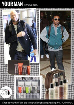 Skin & Body Care Travel Kits for Men