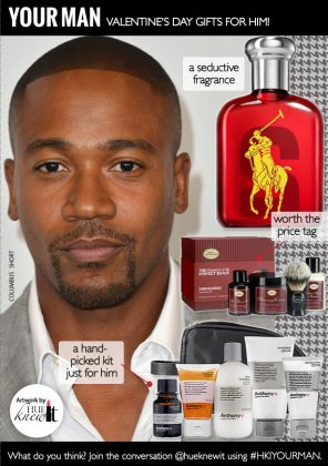 What to Get Your Man for Valentine's Day
