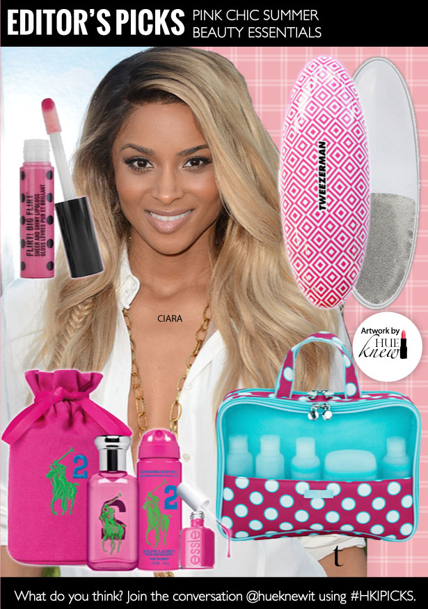 Pink Chic Summer Beauty Essentials