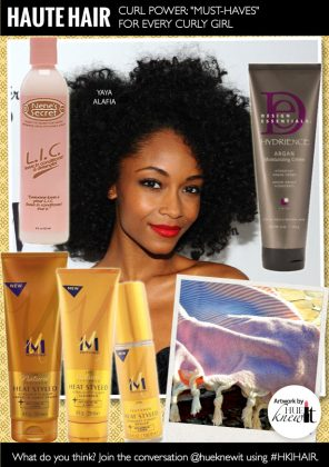 Curl Power: Must-Have Hair Products For Curly Hair