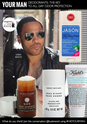 Give Your Man All Day Odor Protection With The Right Deodorant
