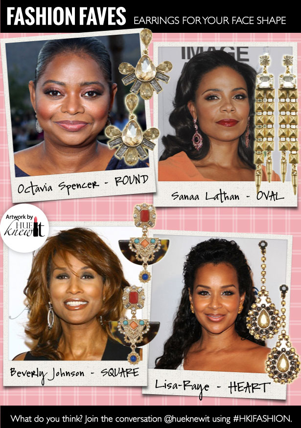 Pick the Perfect Earrings for Every Face Shape