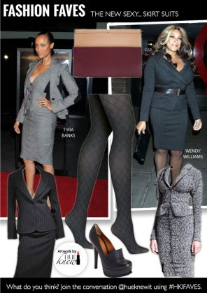 Go From Desk to Date with the New Sexy Skirt Suit