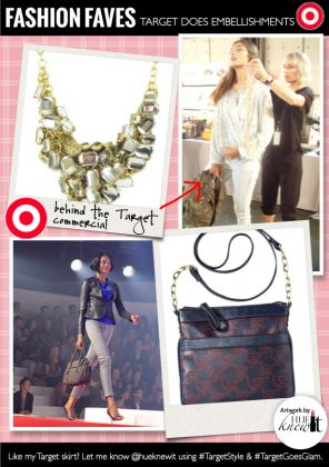The Embellished Trend Walks The TARGET Runway