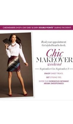ANN TAYLOR GIVES MAKEOVERS!