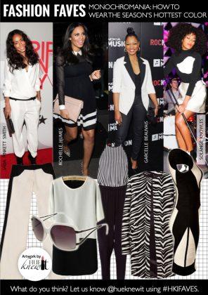 Season's Hottest Trend: Black and White Monochrome Fashion