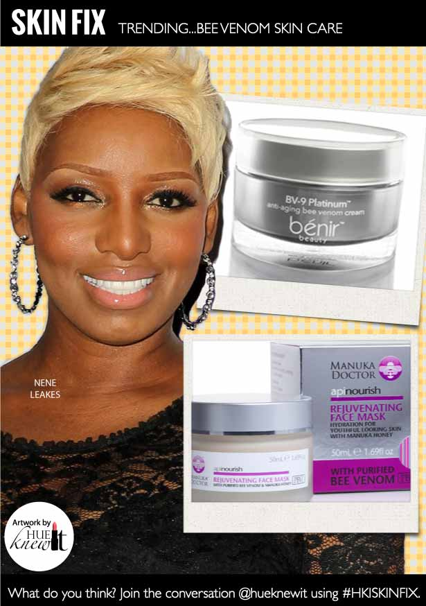 Tighten and Lift Facial Skin with Bee Venom Skin Care