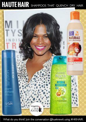 3 Moisturizing Shampoos For Dry Hair