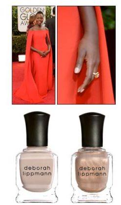 Get Lupita Nyongo's Golden Globe Nails