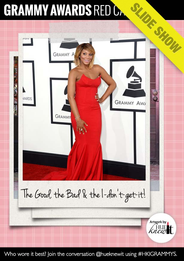 Slideshow: Grammys 2014 Red Carpet Looks