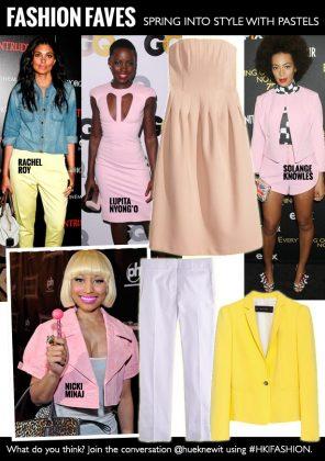 Trend-Obsessed: Spring Pastels