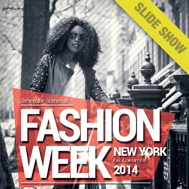 F/W 2014 NYFW Backstage Beauty