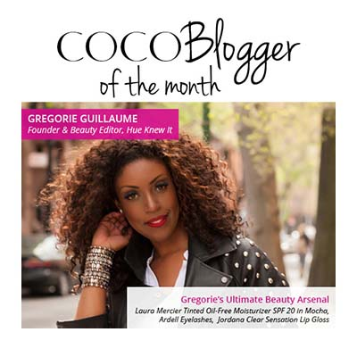 Guess Who's COCOTIQUE Blogger of the Month!