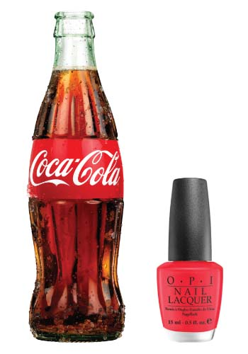 Coca Cola and OPI Nails Team Up