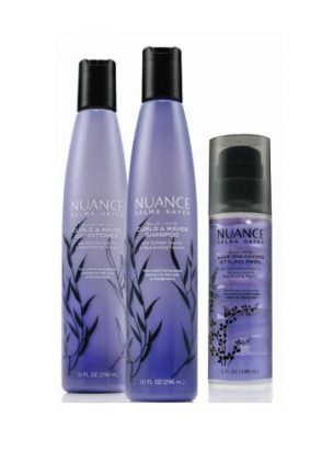 NEW From NUANCE Salma Hayek: Curly Hair Products