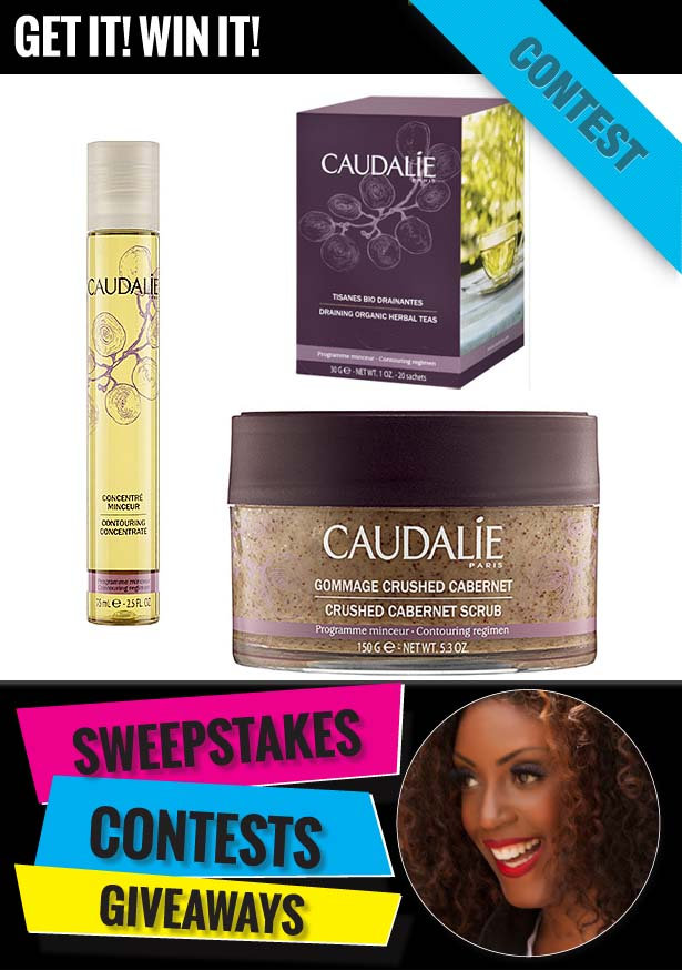 GIVEAWAY: 3-Step Caudalie Slimming Treatment