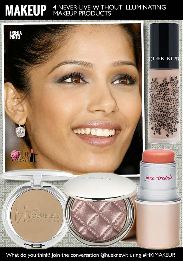 Makeup That Makes Your Skin Glow - Frieda Pinto