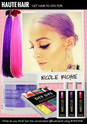 Get Funky with Temporary Hair Color