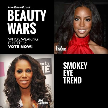 Smokey Eye Trend: VOTE for Kelly or June