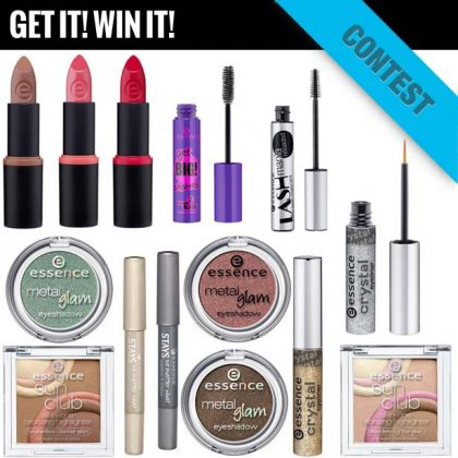 GIVEAWAY: NEW Essence Makeup Collection