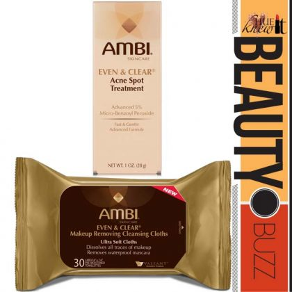 AMBI Skin Care Adds 2 Products to the Flawless Skin Line