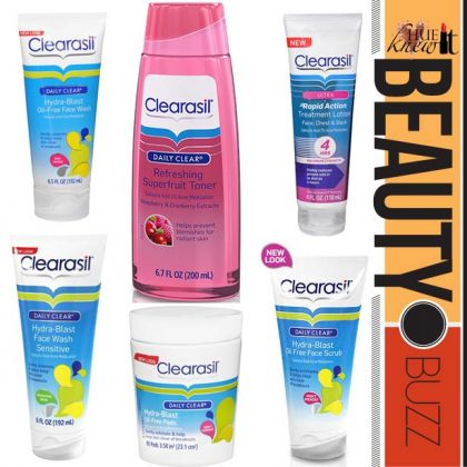 Zap Zits With NEW Clearasil Products