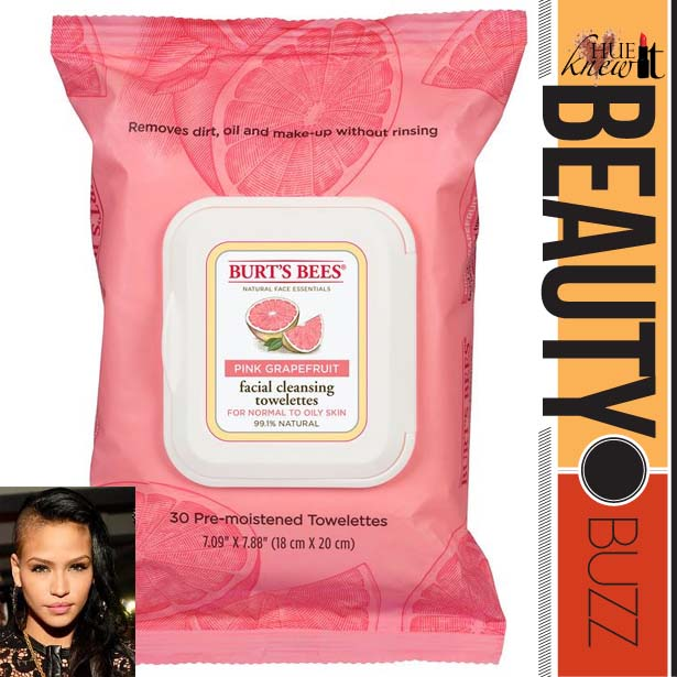 Burt's Bees Facial Cleansing Towelettes in Pink Grapefruit