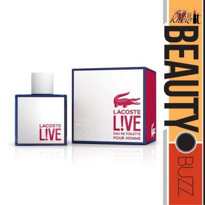 New LACOSTE Men's Fragrance Promises To Inspire…