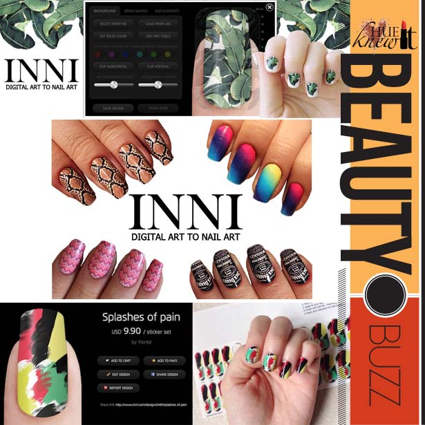 Designed For You, By You – INNI Customizable Nail Wraps