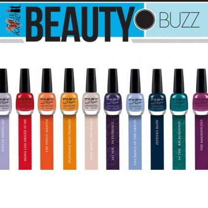 New Nail Polish Line Launches Stateside: Introducing FABY