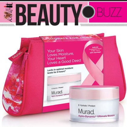 Breast Cancer Awareness Month Ideas: Murad Hydrate for Hope
