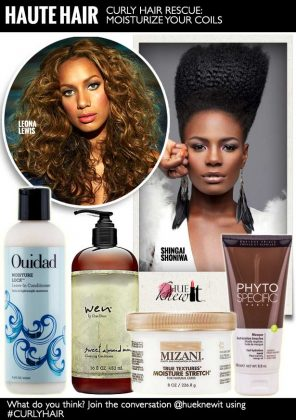 Curly Hair Rescue: Moisturize Your Coils