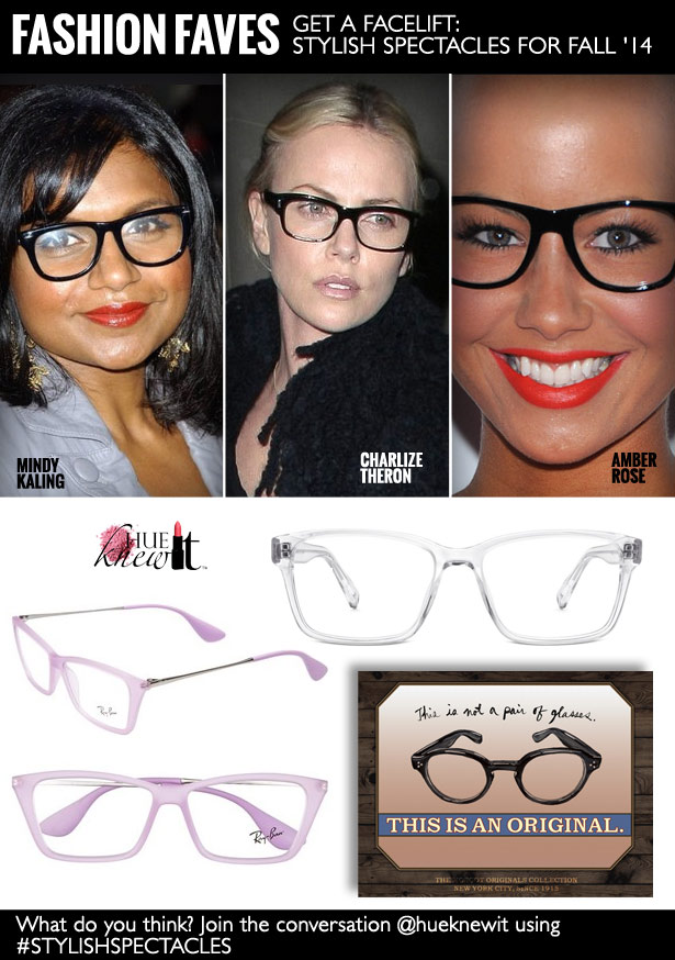Get A Face Lift: Stylish Spectacles For Fall '14
