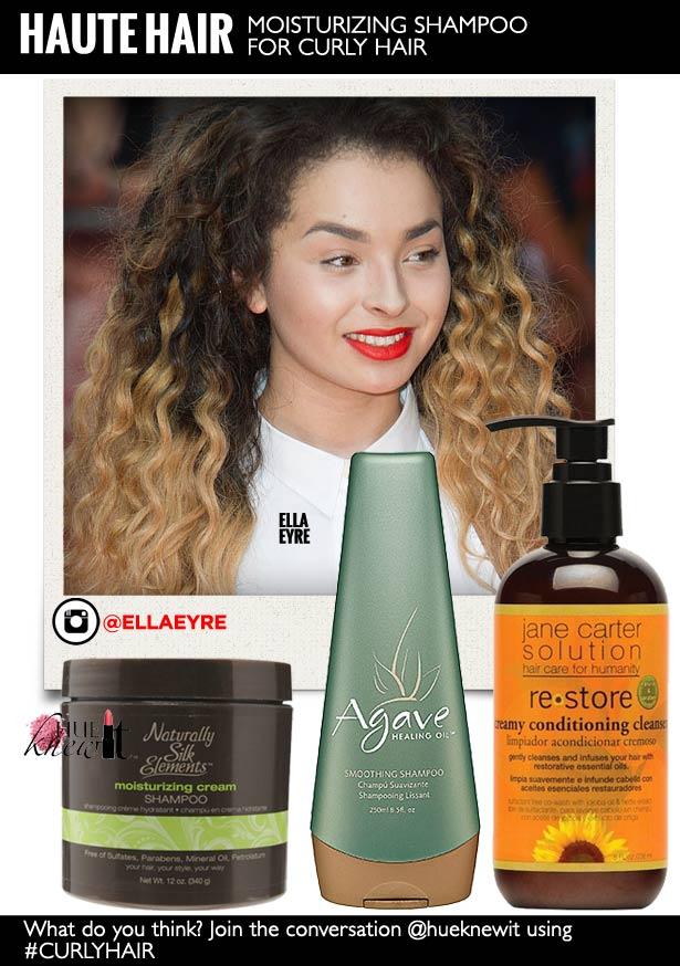 Moisturizing Shampoo for Curly Hair