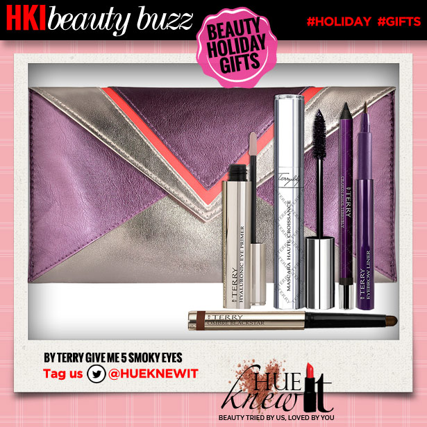 hueknewit beauty buzz beauty holiday gifts by terry give me 5 smoky eyes